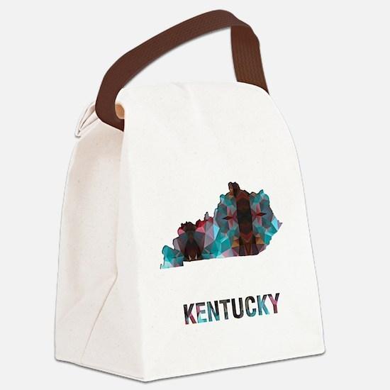 Cute Kentucky Canvas Lunch Bag