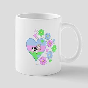 Fun Cow Heart Mugs