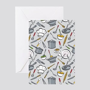 Chef's Tools Greeting Cards