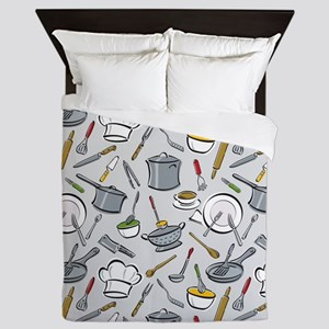 Chef's Tools Queen Duvet