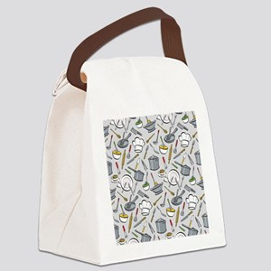 Chef's Tools Canvas Lunch Bag