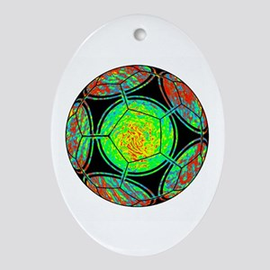 GOAL Oval Ornament