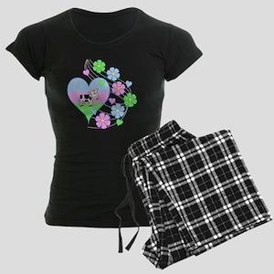 Fun Cow Heart Pajamas