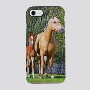 Mother and Foal iPhone 8/7 Tough Case