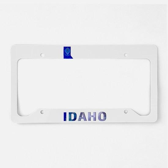 Mosaic Map IDAHO License Plate Holder