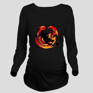 GOAL Long Sleeve Maternity T-Shirt