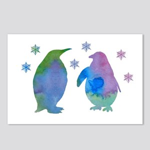 Penguin Silhouette Postcards (Package of 8)