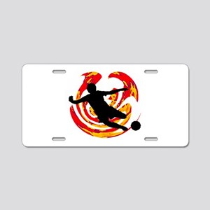 GOAL Aluminum License Plate