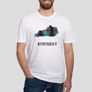 Mosaic Map KENTUCKY T-Shirt