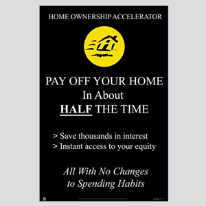 HomeOwner Accelerator<br>Lobby Poster<br>23&quot; x 35&quot;