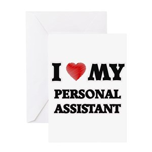 Personal Assistant Greeting Cards