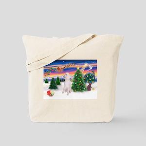 TakeOff/Poodle (STW) Tote Bag