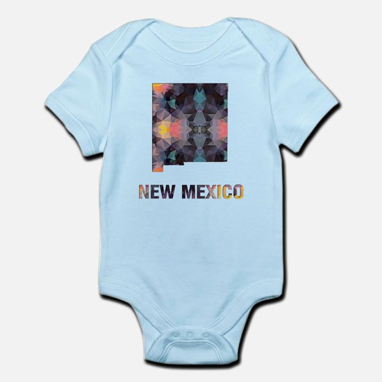 Mosaic Map NEW MEXICO Body Suit