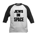 Jews in Space Kids Baseball Jersey