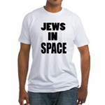 Jews in Space Fitted T-Shirt