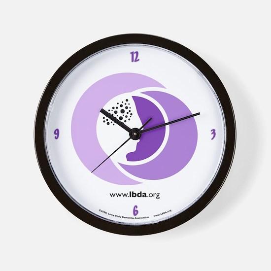 Lbd lbda dementia pdd lewy Wall Clock