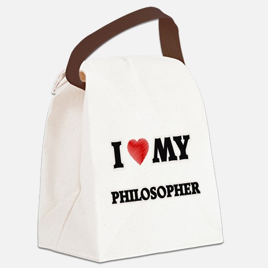 I love my Philosopher Canvas Lunch Bag