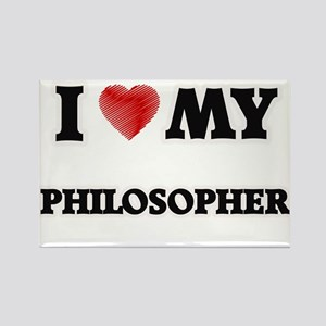 I love my Philosopher Magnets