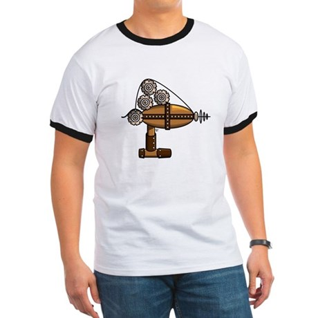 Steampunk Raygun - Men's T-Shirt