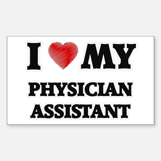 I love my Physician Assistant Decal