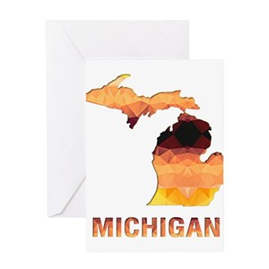 Michigan greeting cards cafepress m4hsunfo