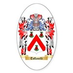 Toffanelli Sticker (Oval 50 pk)
