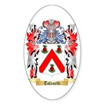 Tofanelli Sticker (Oval 10 pk)