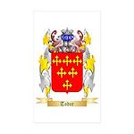 Todor Sticker (Rectangle 10 pk)