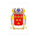 Todor Sticker (Rectangle 50 pk)
