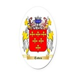 Todeo Oval Car Magnet