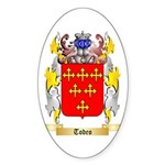 Todeo Sticker (Oval 10 pk)