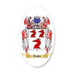 Toddy Oval Car Magnet