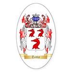 Toddy Sticker (Oval 10 pk)