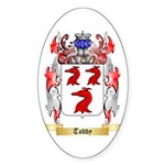 Toddy Sticker (Oval 50 pk)