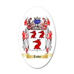 Toddy 20x12 Oval Wall Decal