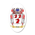 Toddy 35x21 Oval Wall Decal