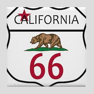 Route 66 California Tile Coaster