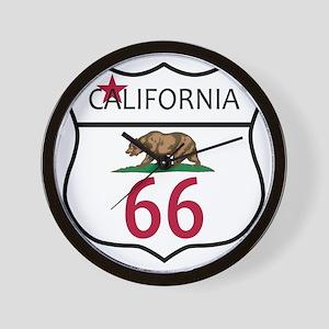 Route 66 California Wall Clock