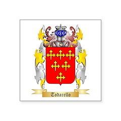 Todarello Square Sticker 3