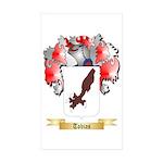 Tobias Sticker (Rectangle 50 pk)