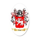 Toal Oval Car Magnet