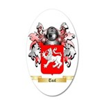Toal 35x21 Oval Wall Decal