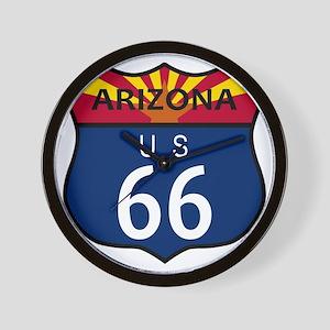Route 66 Arizona Wall Clock