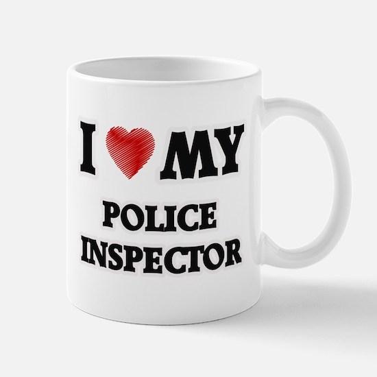 I love my Police Inspector Mugs