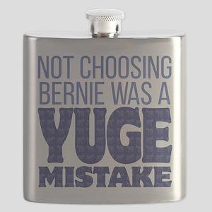 No Bernie - YUGE Mistake Flask