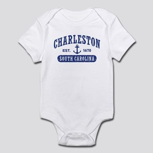 Charleston baby clothes accessories cafepress charleston south carolina infant bodysuit negle Gallery