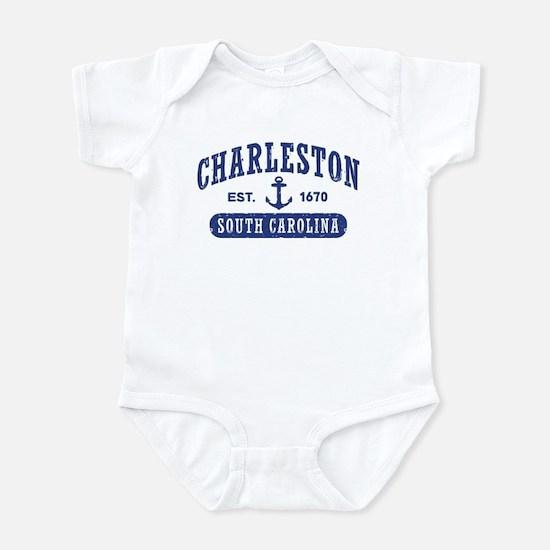 Charleston baby clothes cafepress charleston south carolina infant bodysuit negle Images