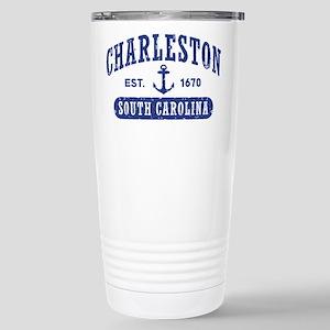 Charleston South Caroli Stainless Steel Travel Mug