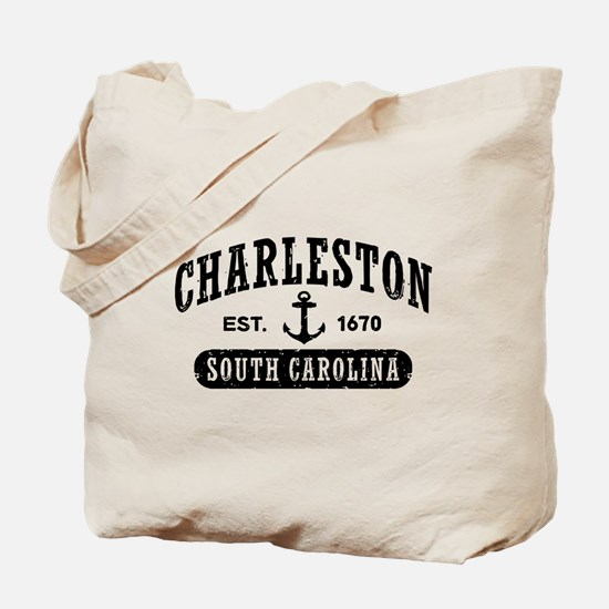 Charleston South Carolina Tote Bag
