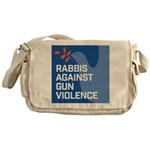 rabbis against gun violence Messenger Bag